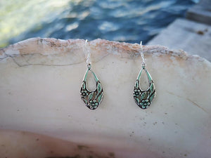 Botanic Elegance - sterling silver earrings. jewelry Tantilly