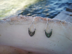 Gypsy vibes- sterling silver earrings jewelry Tantilly