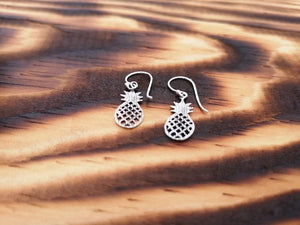 Classic Pineapple - sterling silver earrings jewelry Tantilly