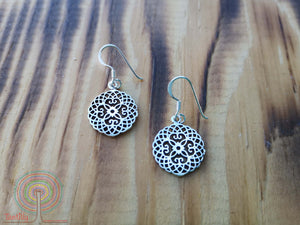 Boho nature - sterling silver earrings jewelry Tantilly