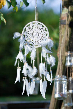 Dreamcatcher, Handmade with Love - White Sky cadeau Tantilly