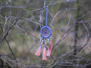 Dreamcatcher, Handmade with Love - Sparkling Kobalt Blue cadeau Tantilly