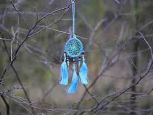 Dreamcatcher, Handmade with Love - Sparkling Turquoise cadeau Tantilly