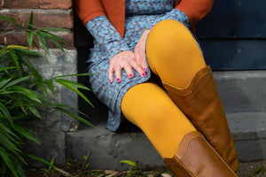 Legging Ocher Yellow Legging Tantilly