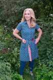 Triple G- new design- reversible print- shirt /cardigan/dress- all in one! retro love Reversible dress Tantilly