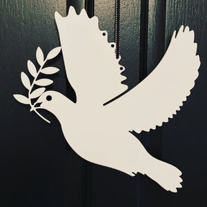 Metal Peace Dove