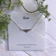 Brave Triangle Necklace