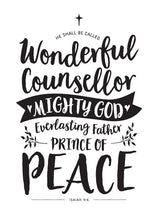 Tea Towel - Wonderful Counsellor