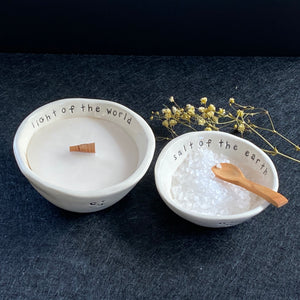 Salt & Light Ceramic Bowls