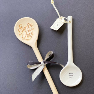 Ceramic Spoon - Love