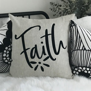 Cushion - Faith