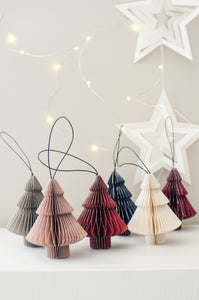Paper Christmas Ornament - Tree Shape