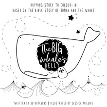The Big Whale's Belly Book & Whale figurine