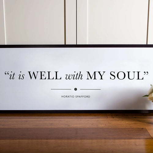 Wall Sign - My Soul