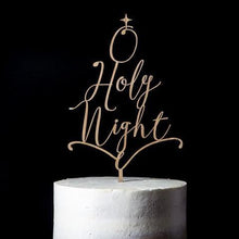 O Holy Night Cake Topper