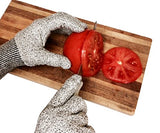 CUT RESISTANT KITCHEN GLOVES: Food Safe with High Performance Level 5 Protection for Your Safety. (Women's Small)