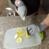 CUT RESISTANT GLOVES: High Performance Professional Glove for Work or Home, Food Grade Level 5 Protection for Your Hands Safety. (Medium)