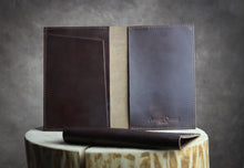 Leather Travel Wallet and Passport Holder - AshleyClarke