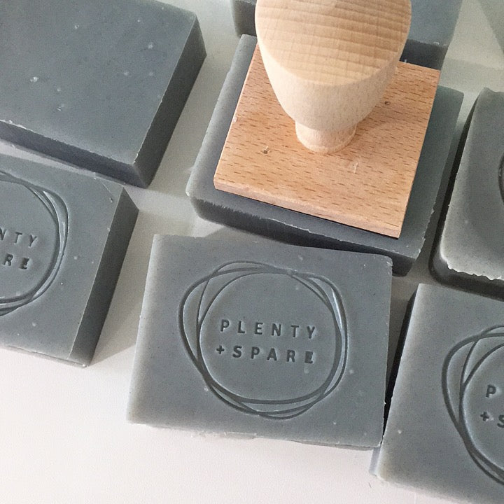 Beautiful soap, made by hand in Vancouver.