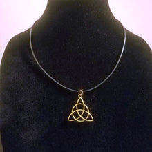 Triquetra Pendant Necklace - Celtic Trinity Knot