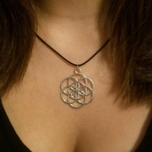 Silver Seed of Life Pendant Necklace - Sacred Geometry