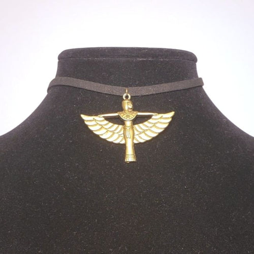 Isis Choker Necklace Egyptian Goddess