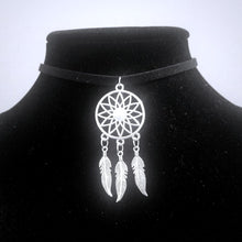 Dream Catcher CHOKER Necklace Native American Charm- Paragon Designer Pendants
