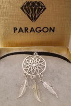 Dream Catcher CHOKER Necklace Native American Charm - Paragon Designer Pendants