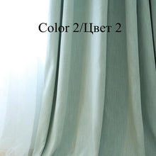 American Solid Color Blackout Curtains. - Paruse