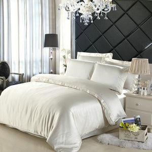 Open image in slideshow, 100% Mulberry Silk Bedding 5 PCS set. - Paruse