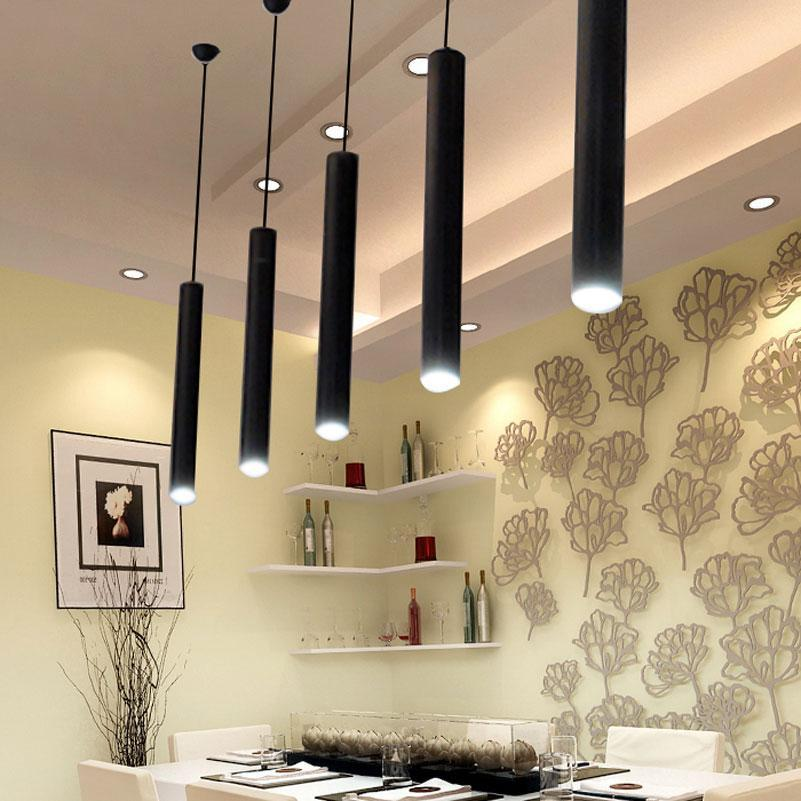 Modern led restaurant cafe pendant light. - Paruse