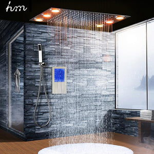 Digital Thermostatic Shower Set. - Paruse