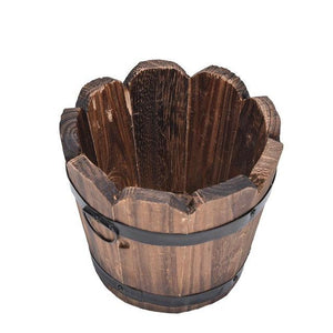 Open image in slideshow, Hot 1PC Small Wooden Ornamental Flower Pot - Paruse