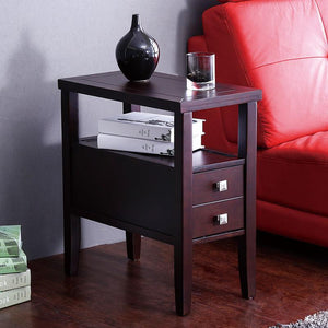 Retro Wooden Pillars American Style Sofa Table - Paruse