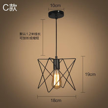 Modern Black Cage Pendant Lights. - Paruse