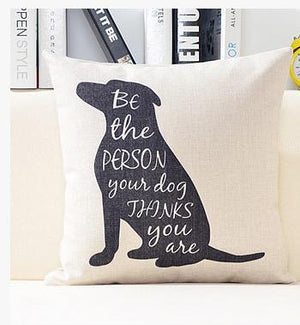 Open image in slideshow, Rain Cloud Rabbit Dog Pillow Cases - Paruse