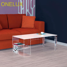 Tapered Acrylic Coffee Table - Paruse