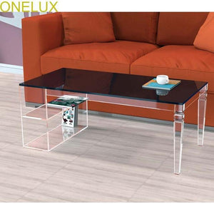 Open image in slideshow, Tapered Acrylic Coffee Table - Paruse