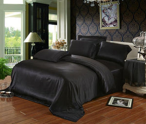 Open image in slideshow, 100% Mulberry silk bedding set. - Paruse