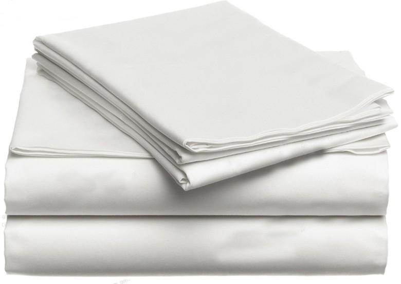 100% Egyptian cotton, Queen size, flat fitted sheets - Paruse