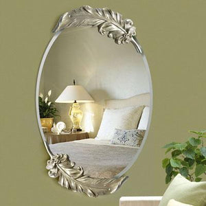 Open image in slideshow, European waterproof white feather mirror. - Paruse