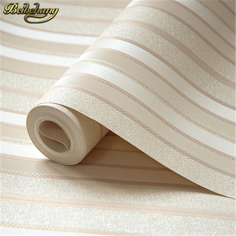 Beibehang Striped  Wallpaper - Paruse