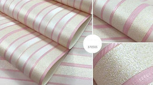 Open image in slideshow, Beibehang Striped  Wallpaper - Paruse