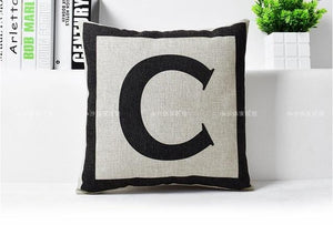 Open image in slideshow, The Cross of Swiss Black & White Decorative Pillow - Paruse