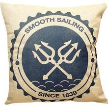 Vintage Smooth Sailing Decorative Pillows - Paruse