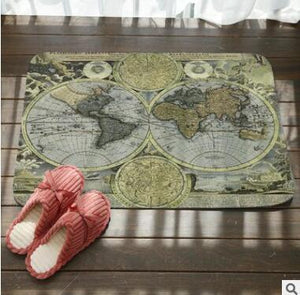 Open image in slideshow, SMAVIA World Map Floor Mat - Paruse