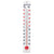 Indoor or Outdoor Wall Thermometer