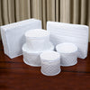 China Storage 6 Piece Vinyl Dish Case Set
