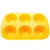 6 Cup Sunflower Muffin or Cupcake Pan