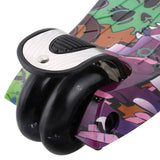 R3 Graffiti Pattern Kids Kick Scooter